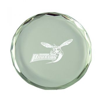 Delaware State University-Crystal Paper Weight