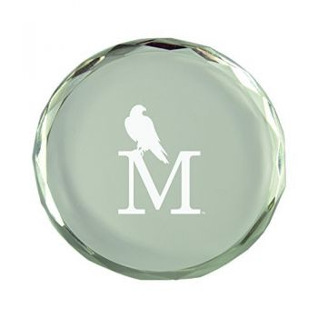 University of Montevallo-Crystal Paper Weight