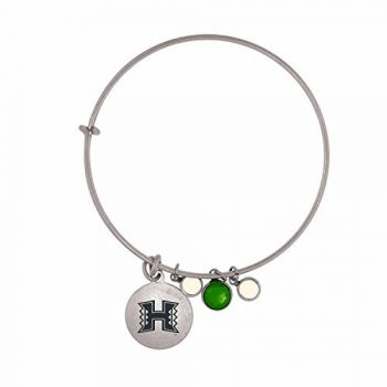 The University of Hawai'i-Frankie Tyler Charmed Bracelet