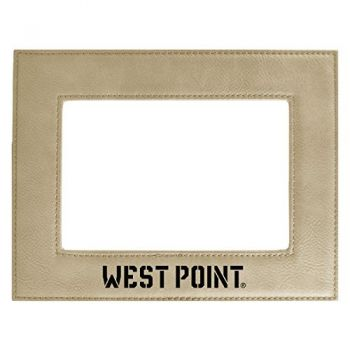 United States Military Academy-Velour Picture Frame 4x6-Tan