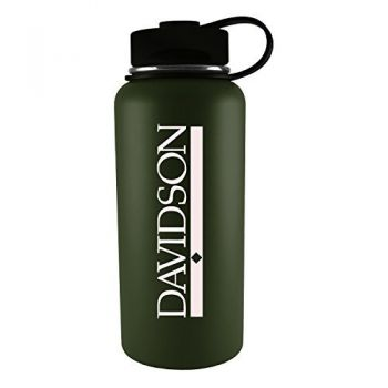 Davidson College-32 oz. Travel Tumbler-Gun Metal