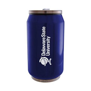 Delaware State University - Stainless Steel Tailgate Can - Blue