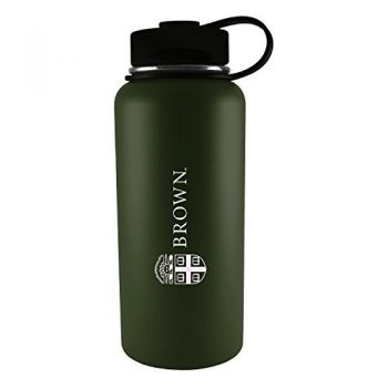 Brown University -32 oz. Travel Tumbler-Gun Metal