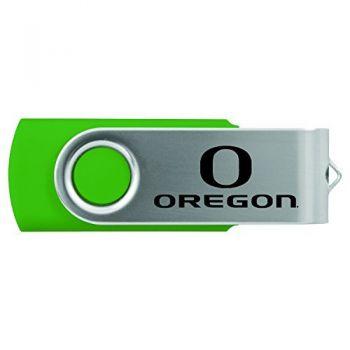 University of Oregon -8GB 2.0 USB Flash Drive-Green