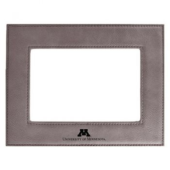 University of Minnesota-Velour Picture Frame 4x6-Grey