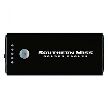 University of Southern Mississippi-Portable Cell Phone 5200 mAh Power Bank Charger -Black