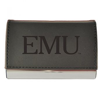 Velour Business Cardholder--Black