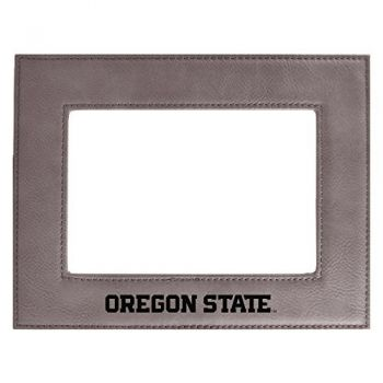 Oregon State University-Velour Picture Frame 4x6-Tan
