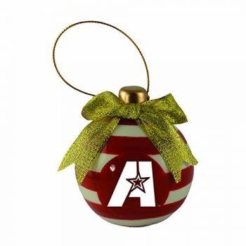 Louisiana State University of Alexandria-Christmas Bulb Ornament