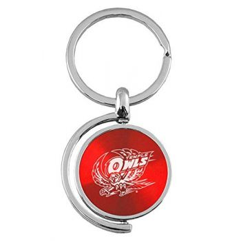 Temple University - Spinner Key Tag - Red