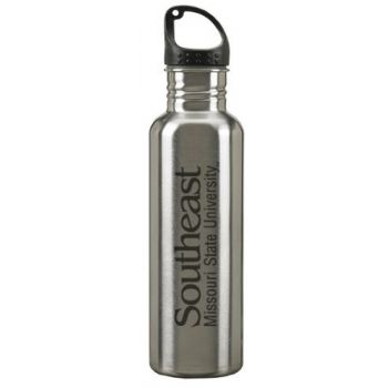 Southeast Missouri State University - 24-ounce Sport Water Bottle - Silver