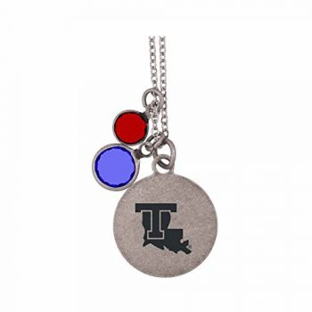 Louisiana Tech University-Frankie Tyler by LXG Charmed Necklace