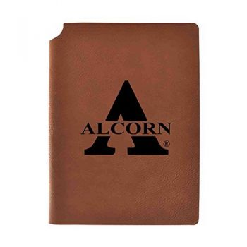 Alcorn State University Velour Journal with Pen Holder|Carbon Etched|Officially Licensed Collegiate Journal|