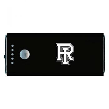 The University of Rhode Island -Portable Cell Phone 5200 mAh Power Bank Charger -Black