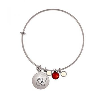 Wesleyan University-Frankie Tyler Charmed Bracelet