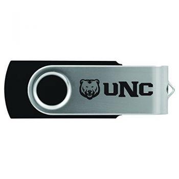 University of Northern Colorado -8GB 2.0 USB Flash Drive-Black
