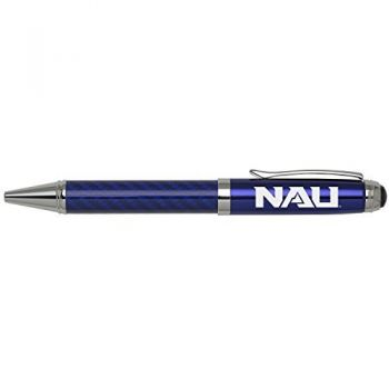 Northern Arizona University -Carbon Fiber Ballpoint Pen-Blue