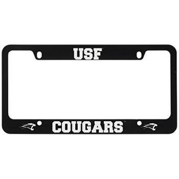 University of Saint Francis-Fort Wayne -Metal License Plate Frame-Black