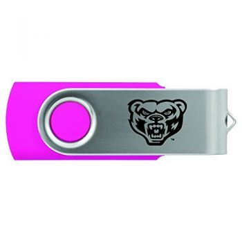 Oakland University -8GB 2.0 USB Flash Drive-Pink