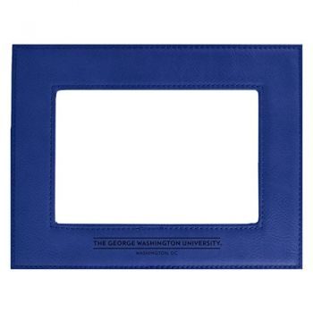 George Washington University-Velour Picture Frame 4x6-Blue