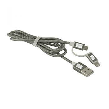 University of Detroit Mercy-MFI Approved 2 in 1 Charging Cable