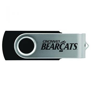 University of Cincinnati -8GB 2.0 USB Flash Drive-Black