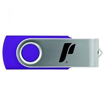 The University of Portland-8GB 2.0 USB Flash Drive-Purple