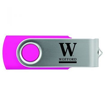Wofford College-8GB 2.0 USB Flash Drive-Pink