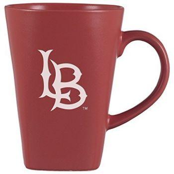 Long Beach State University -14 oz. Ceramic Coffee Mug-Pink