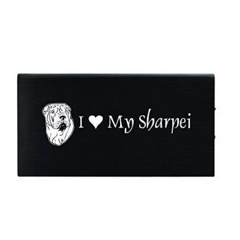 Quick Charge Portable Power Bank 8000 mAh  - I Love My Sharpei