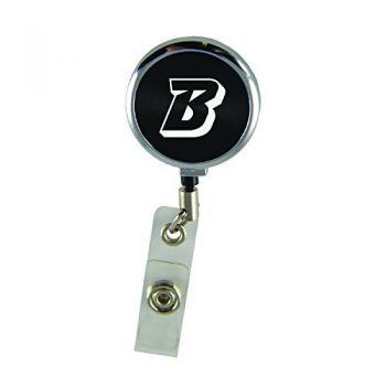 Binghamton University-Retractable Badge Reel-Black