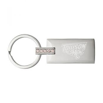 Towson University-Jeweled Key Tag