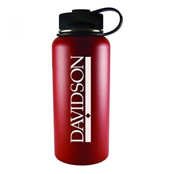 Davidson College-32 oz. Travel Tumbler-Red