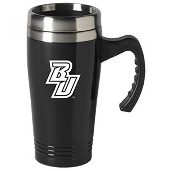 Binghamton University-16 oz. Stainless Steel Mug-Black