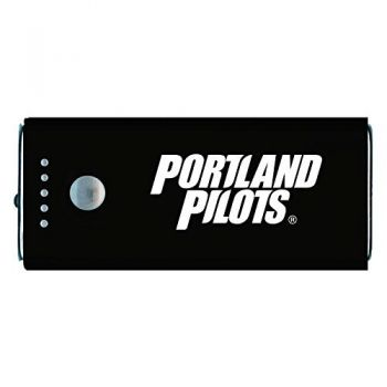 The University of Portland-Portable Cell Phone 5200 mAh Power Bank Charger -Black