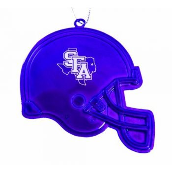 Stephen F. Austin State University - Christmas Holiday Football Helmet Ornament - Purple