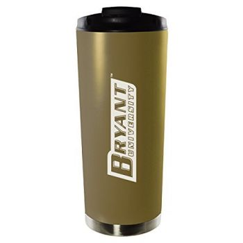 Bryant University-16oz. Stainless Steel Vacuum Insulated Travel Mug Tumbler-Gold