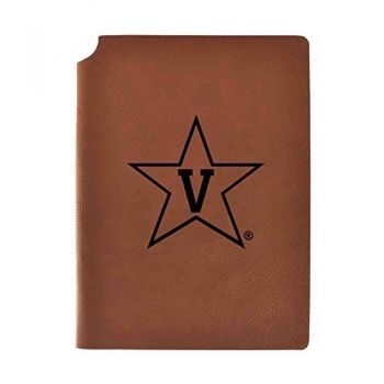 Vanderbilt University Velour Journal with Pen Holder|Carbon Etched|Officially Licensed Collegiate Journal|