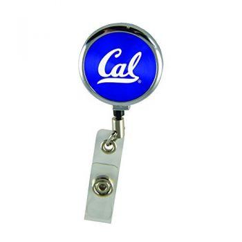 University of California Berkeley-Retractable Badge Reel-Blue