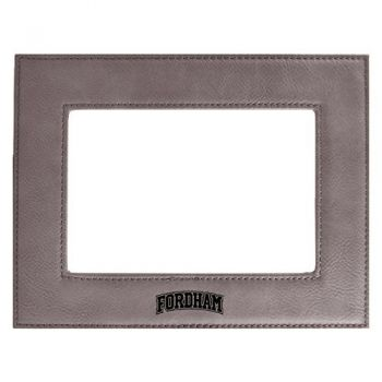 Fordham University-Velour Picture Frame 4x6-Grey