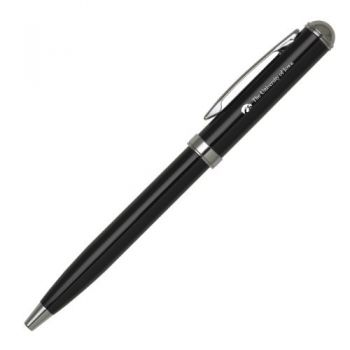 University of Iowa - Click-Action Gel pen - Black