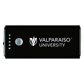 Valparaiso University-Portable Cell Phone 5200 mAh Power Bank Charger -Black