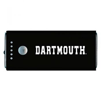 Dartmouth College-Portable Cell Phone 5200 mAh Power Bank Charger -Black