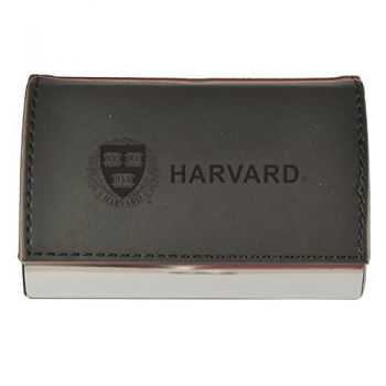 Velour Business Cardholder-Harvard University-Black