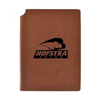 Hofstra University Velour Journal with Pen Holder|Carbon Etched|Officially Licensed Collegiate Journal|