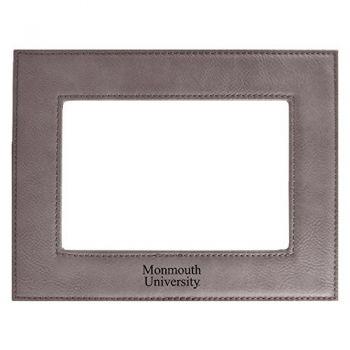 Monmouth University-Velour Picture Frame 4x6-Grey