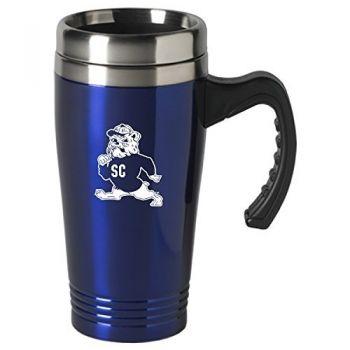 South Carolina State University-16 oz. Stainless Steel Mug-Blue