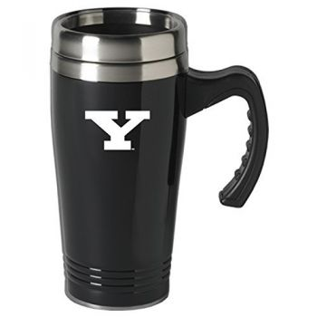 Youngstown State University-16 oz. Stainless Steel Mug-Black
