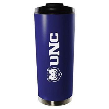 University of Northern Colorado-16oz. Stainless Steel Vacuum Insulated Travel Mug Tumbler-Blue