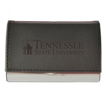 Velour Business Cardholder-Tennessee State University-Black